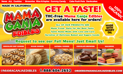 Mama Ganja Makes Best Medical Edibles in SoCal