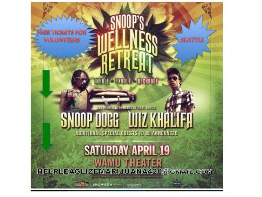 Snoop's Wellness Retreat & Wiz Khalifa in WASHINGTON