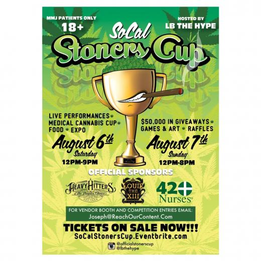 So Cal Stoners Cup 420Nurses GUEST LIST