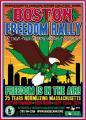 Boston Mass Freedom rally 25th anniversary
