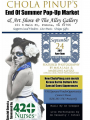 Chola Pinups End of Summer Pop-Up Market