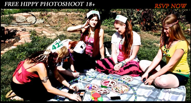 Hippy Photoshoot